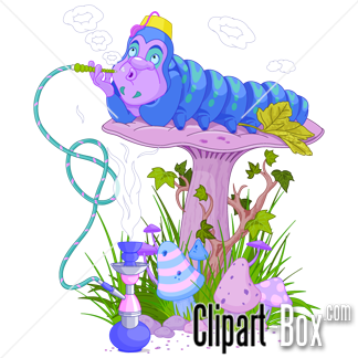 Related Alice In Wonderland Caterpillar Cliparts