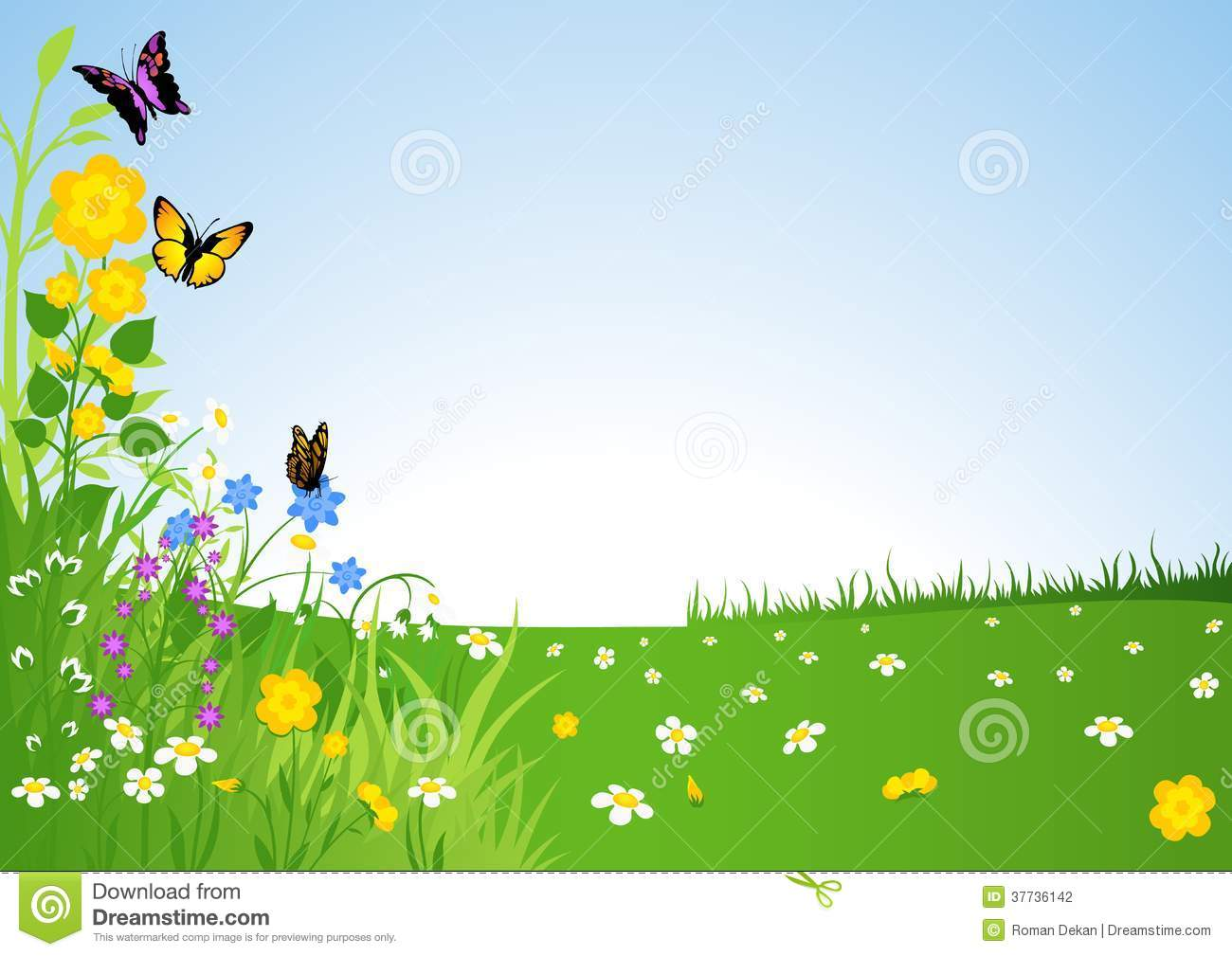 spring clipart background - photo #27