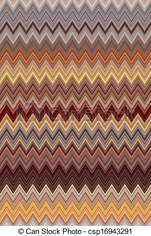 Stock Illustration   Brown Background With Zig Zag Pattern   Stock