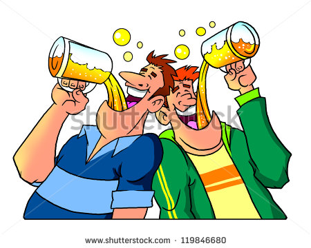 Stock Images Similar To Id 71641579   Party Time Hand Drawn Cartoon