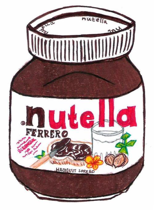 Transparent Nutella Tumblr #peATBQ - Clipart Kid