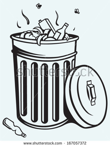 Trash Symbol Clipart - Clipart Suggest