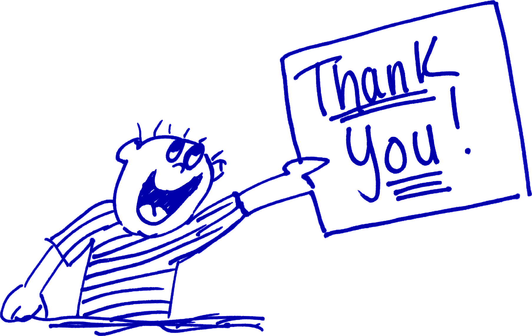 Funny Thanks Clipart - Clipart Kid