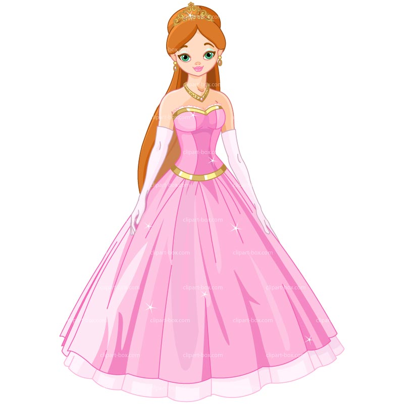 Clipart Beauty Princess   Royalty Free Vector Design