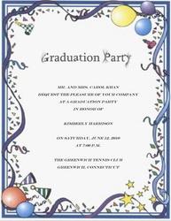 Graduation Invitations Clipart - Clipart Suggest