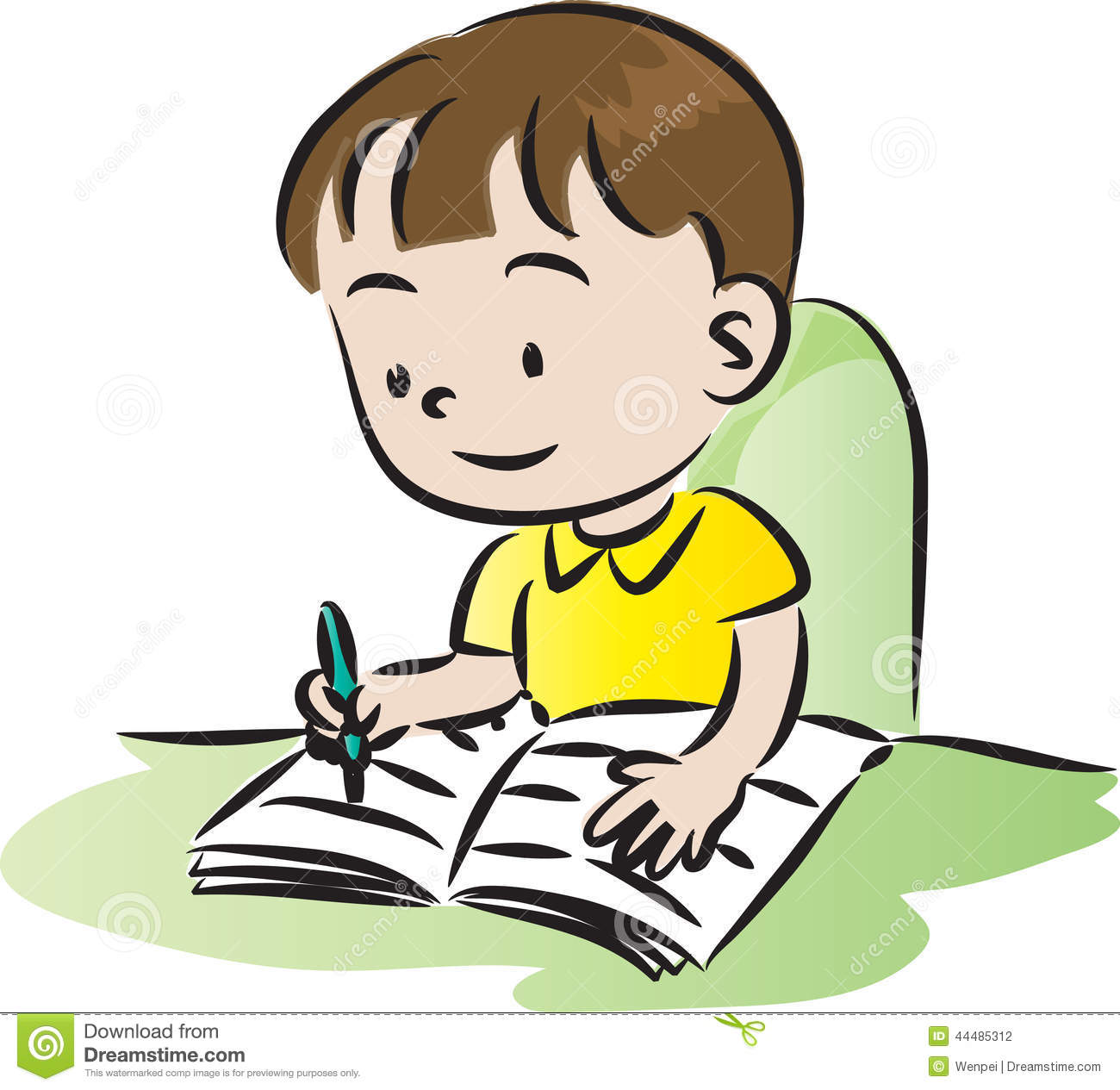 Homework Stock Illustrations Vectors   Clipart    4259 Stock