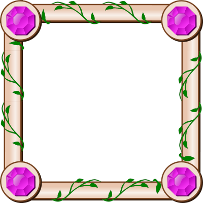 ivy square frame blanks assorted ivy square frame png html