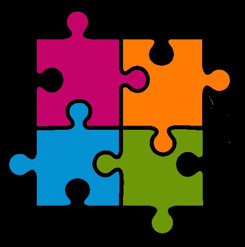 Interlocking Puzzle Clipart - Clipart Kid