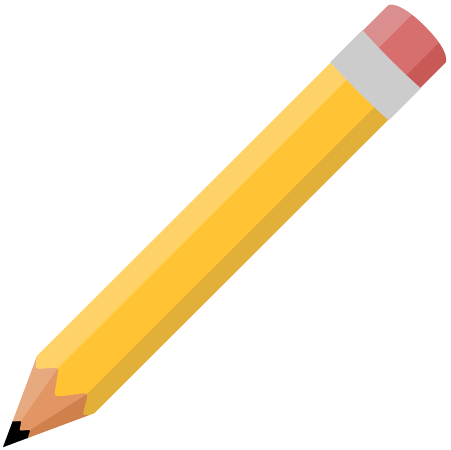 Pencil Outline Clipart - Clipart Kid