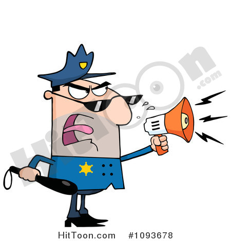Attention Clip Art Police Clipart  1093678
