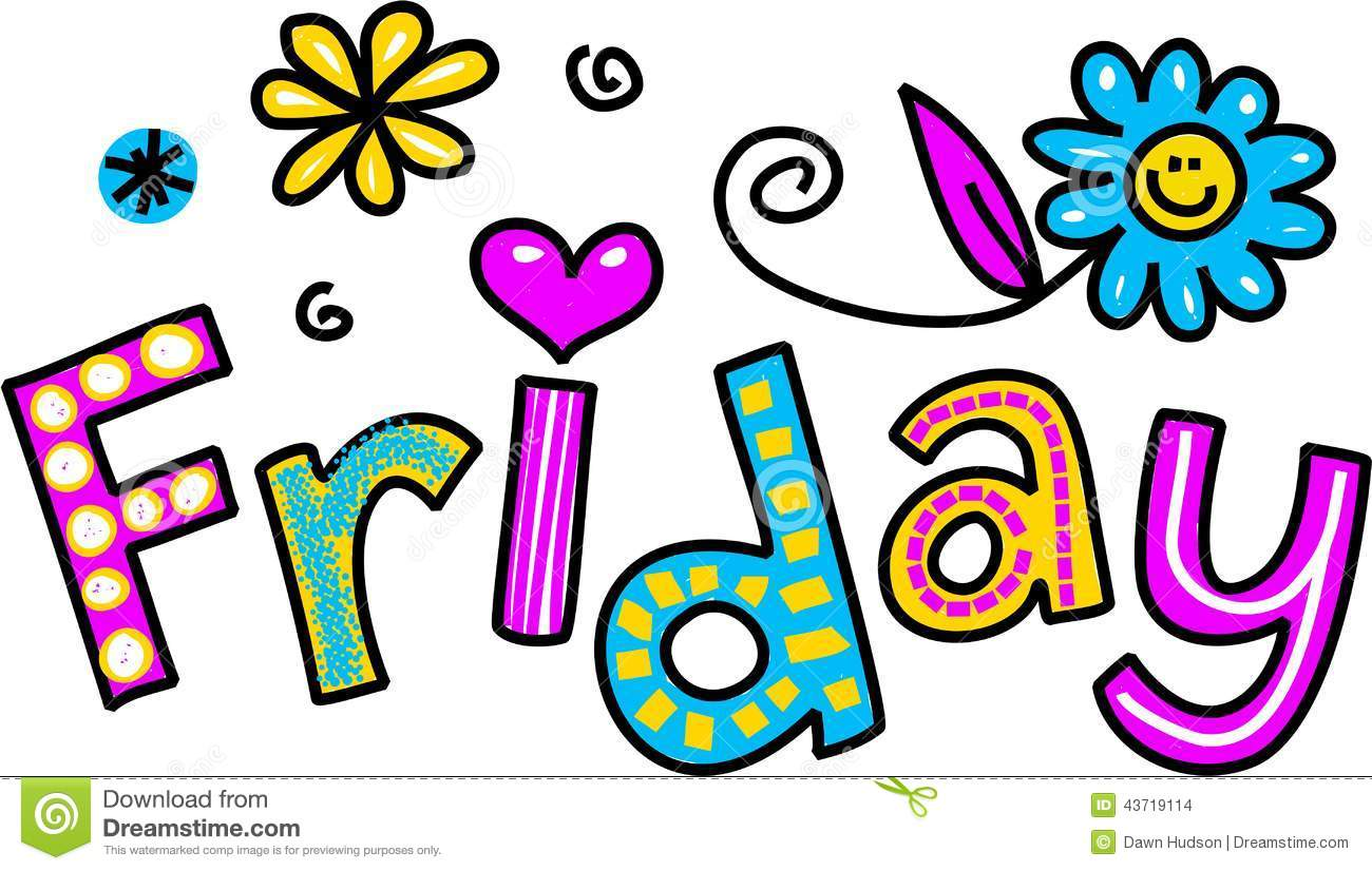 Clip Art Happy Friday Clip Art funny happy friday clipart kid cartoon special occasion and expression text that reads friday