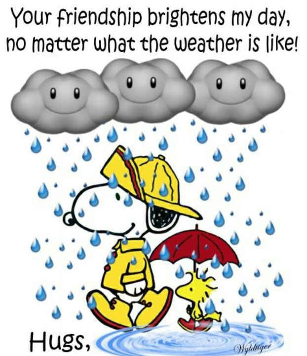 Clip Art Rainy Day Quotes: Snoopy Thank You Clipart