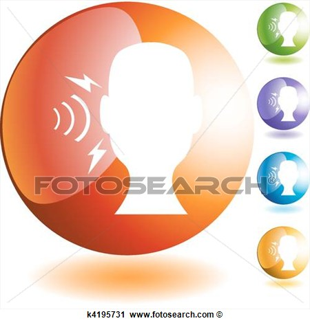 Hearing Loss Clipart Clipart   Hearing Loss  Fotosearch   Search Clip
