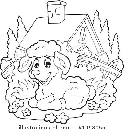Lamb Clipart  1098055 By Visekart   Royalty Free  Rf  Stock