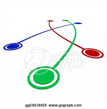 Links   Connections Between Targets  Stock Clipart Gg54838669