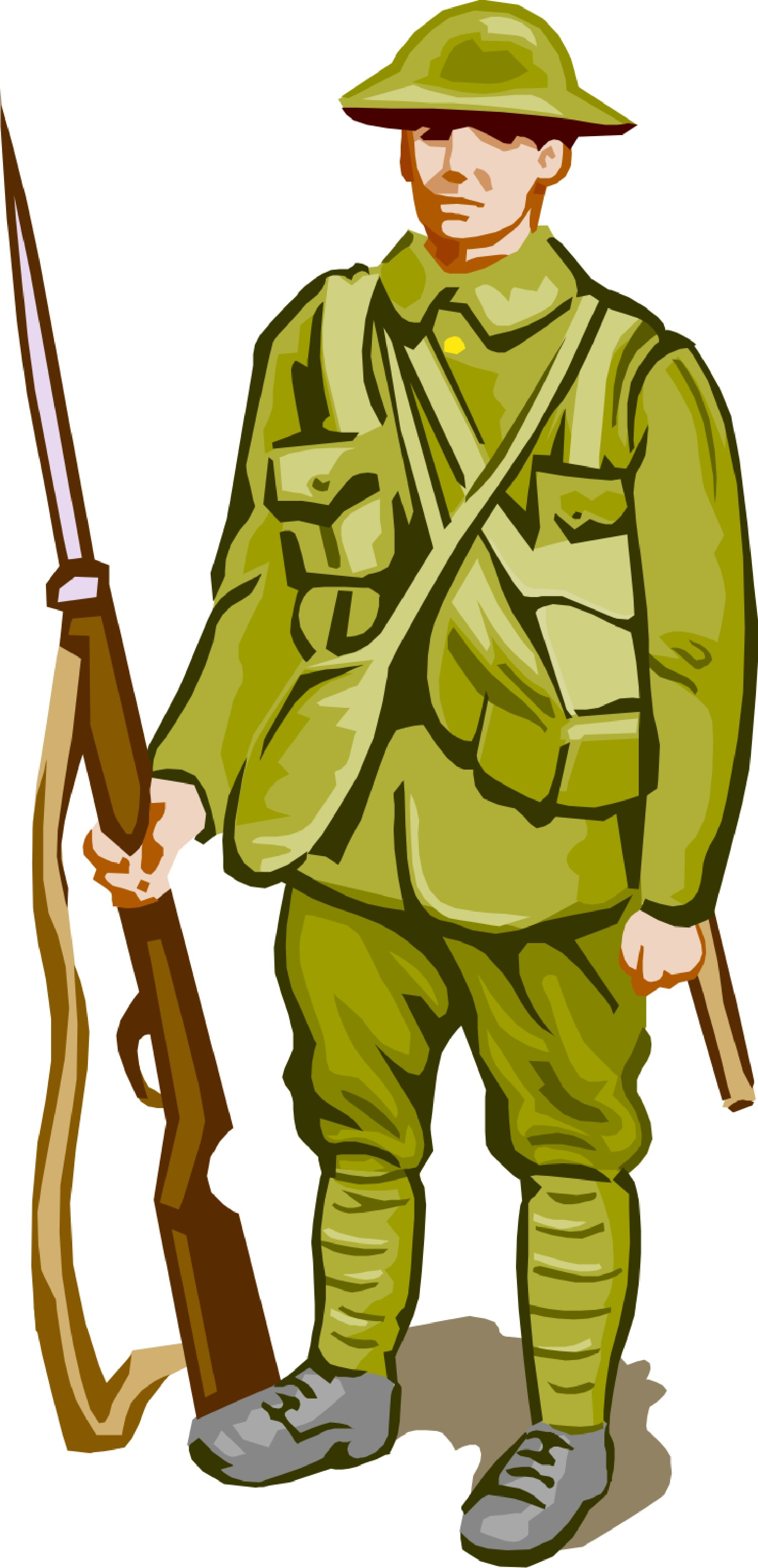 Soldiers Of World War 1 Clipart - Clipart Kid
