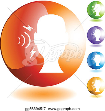 Stock Illustration   Hearing Loss  Clipart Drawing Gg56394517