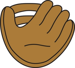softball glove clipart clipart suggest