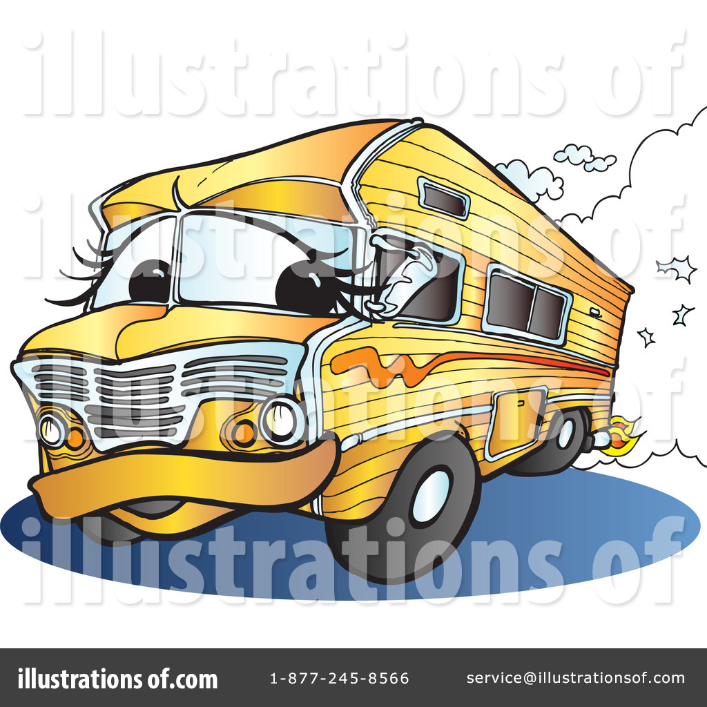 23 Camping Desserts The Ultimate Collection For Campers: Cartoon Rv Clipart