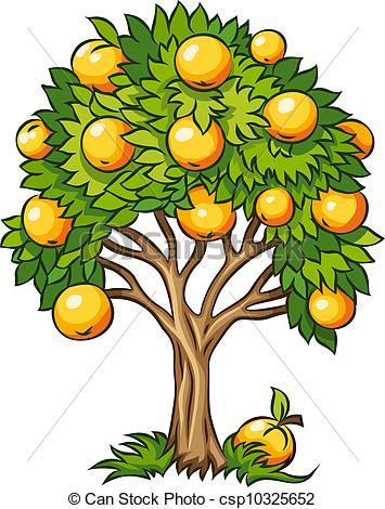 Fruit Tree Clipart - Clipart Kid