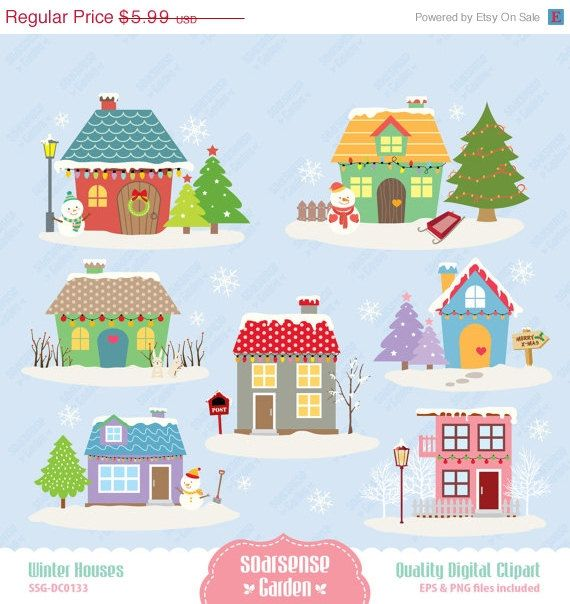 house winter clipart - photo #47