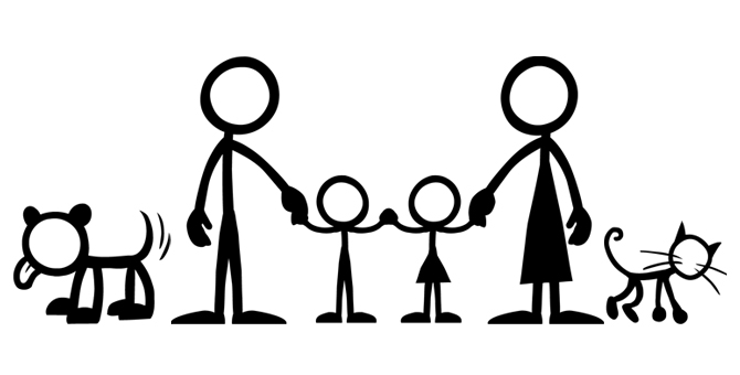 Stick Family Clipart - Clipart Suggest