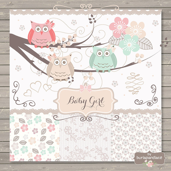 Owl Baby Girl Shower Invitations is good invitations example