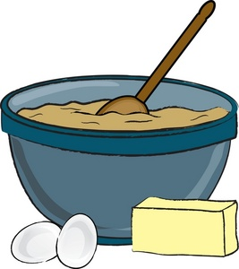Baking A Cake Clip Art : Clip Art Baking Ingredients Clipart - Clipart Suggest