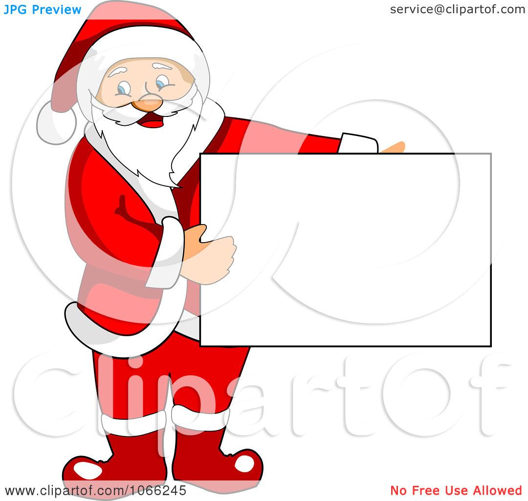 santa clip art signs - photo #6