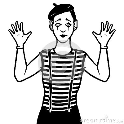 Mime Cliparts
