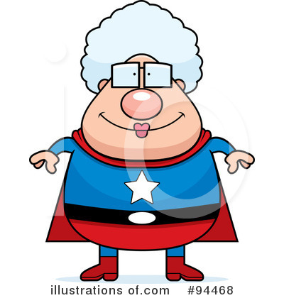 Royalty Free  Rf  Super Hero Clipart Illustration By Cory Thoman