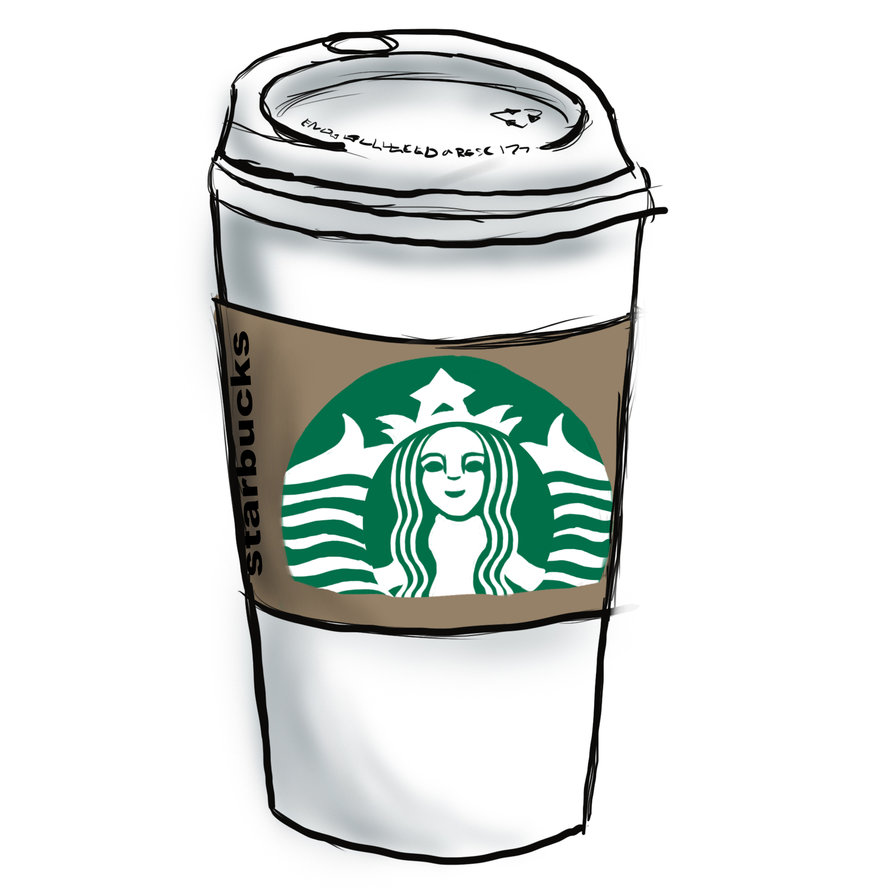 Starbucks Coffee Drawing Tumblr Images   Pictures   Becuo