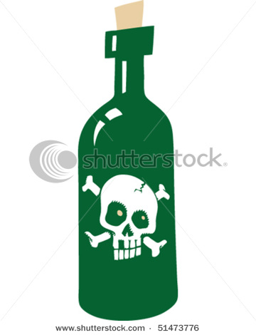 Cartoon Poison Bottle #t0Uqk5 - Clipart Kid