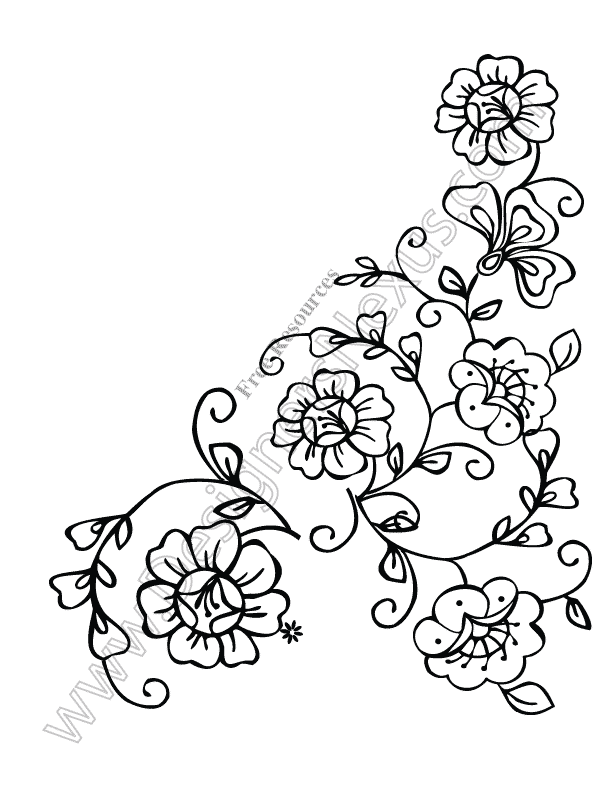 Flower Corner Clipart - Clipart Kid