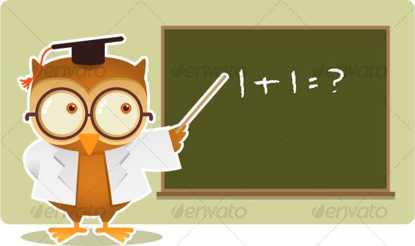 math owl clipart - photo #24