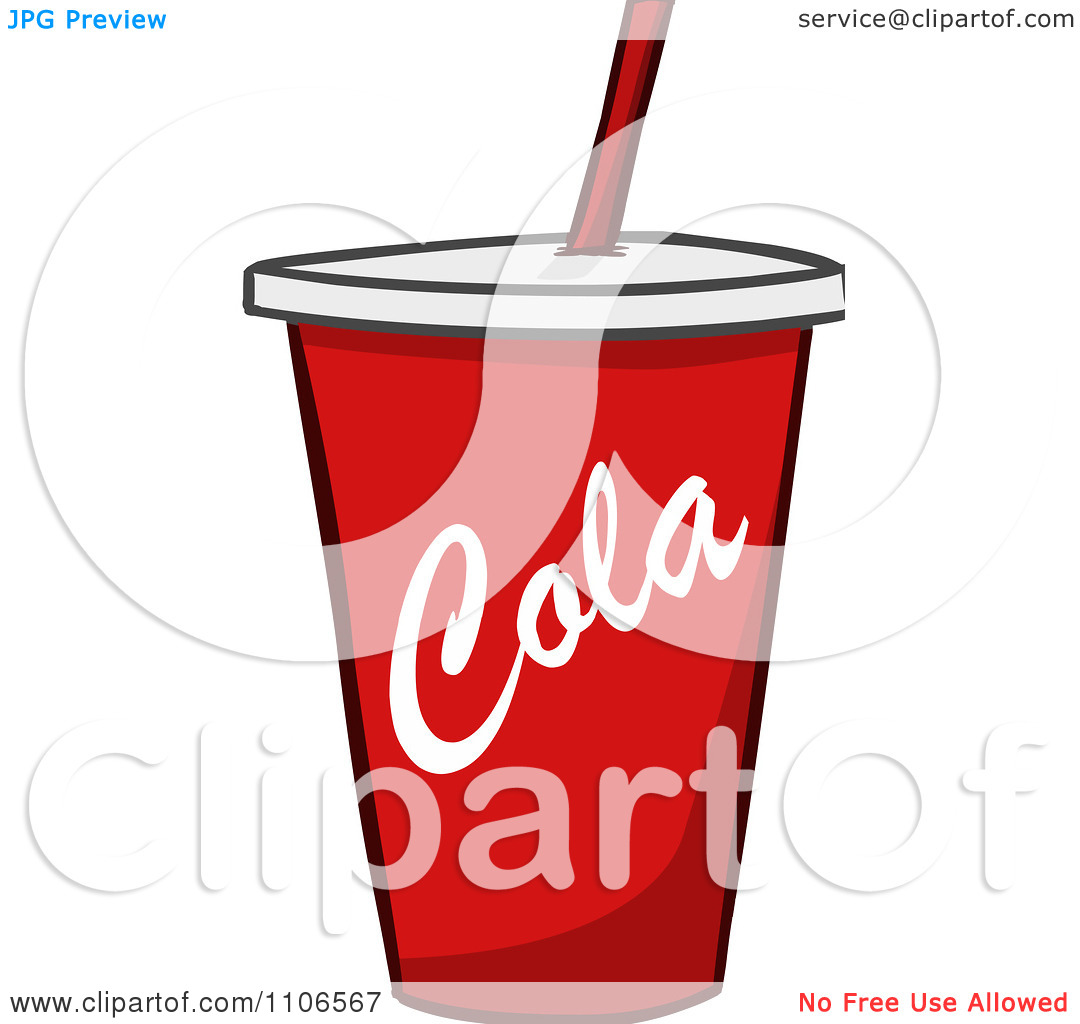 Soda Cup Clipart - Clipart Kid