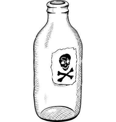 Pics For > Poison Bottle