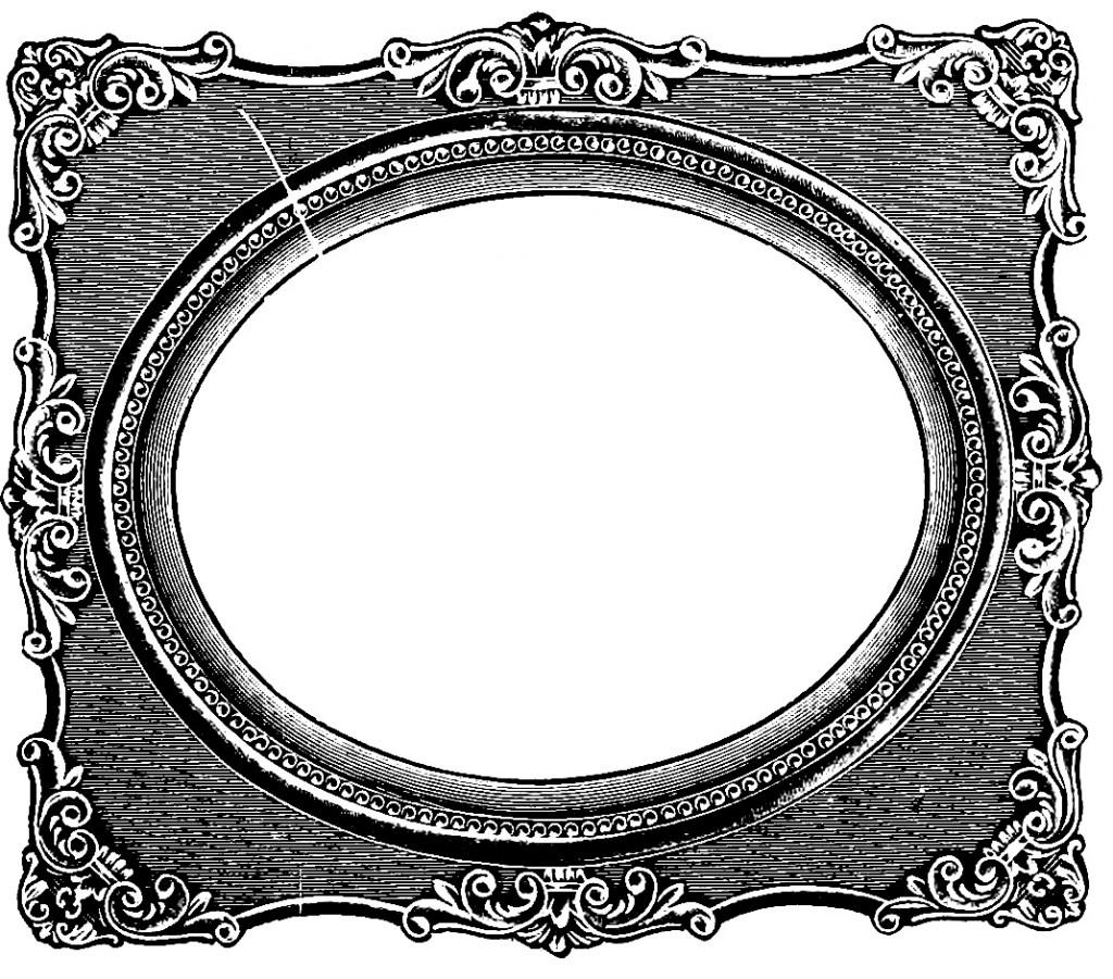 clip art oval frames free - photo #14