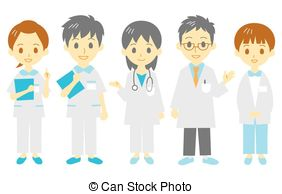 Medical Staff Vector Clipart Eps Images  1323 Medical Staff Clip Art