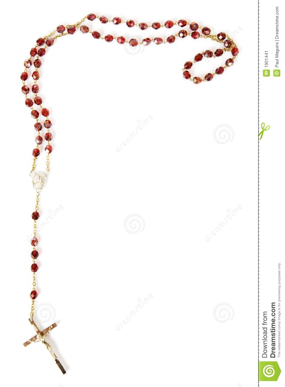 More similar stock images of rosary beads isolated on white