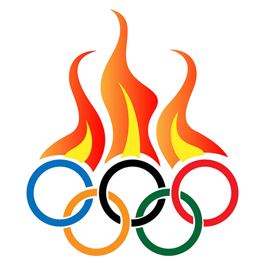 Olympic Flame Clipart - Clipart Kid