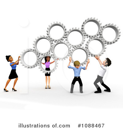 Royalty Free  Rf  Business Team Clipart Illustration  1088467 By