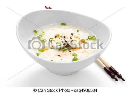 Stock Photo Of Asian Rice Porridge   Rice Porridge Or Jook With