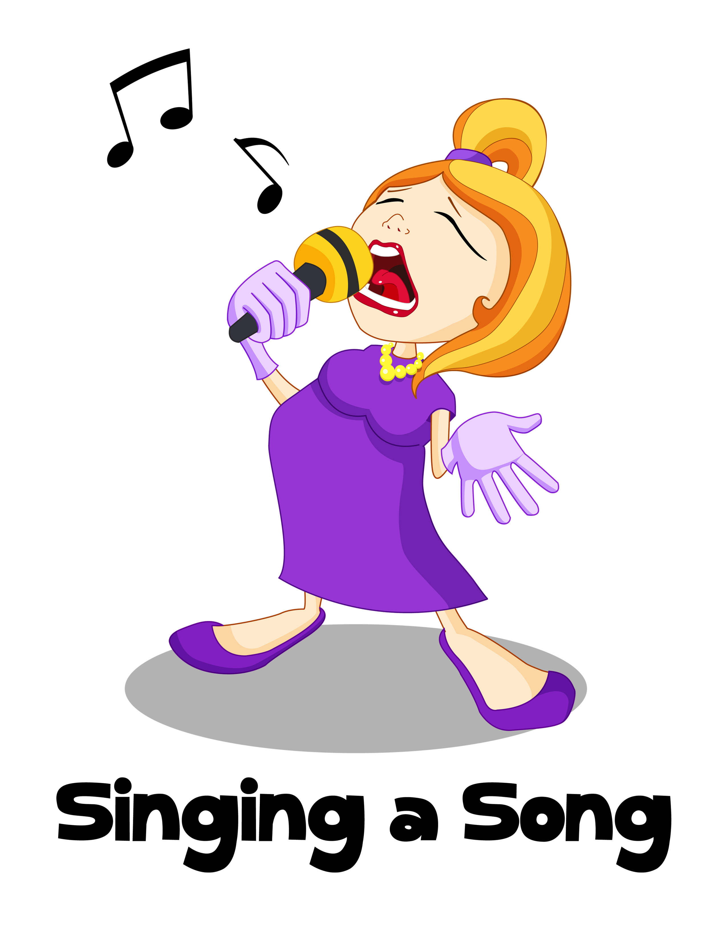 Back   Gallery For   Congregation Singing Clip Art