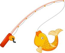 Bent Fishing Pole Clipart Fishing Pole Clip Art Royalty Free  502