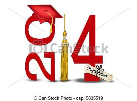 Graduation 2014 Clipart - Clipart Suggest