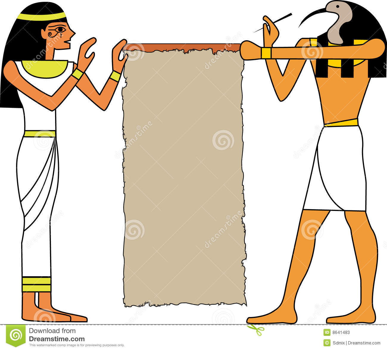 Egyptian God Stock Photos   Image  8641483