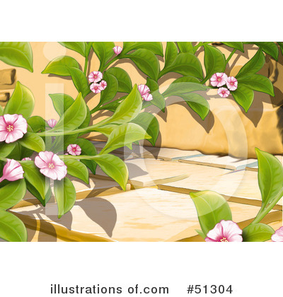 Garden Clipart  51304 By Dero   Royalty Free  Rf  Stock Illustrations