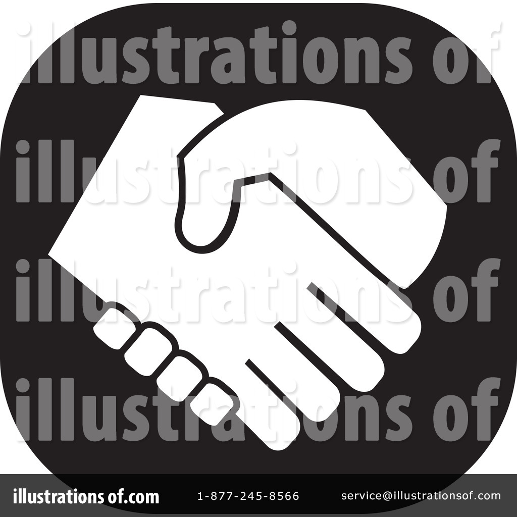 Handshake Clipart  1188436 By Johnny Sajem   Royalty Free  Rf  Stock