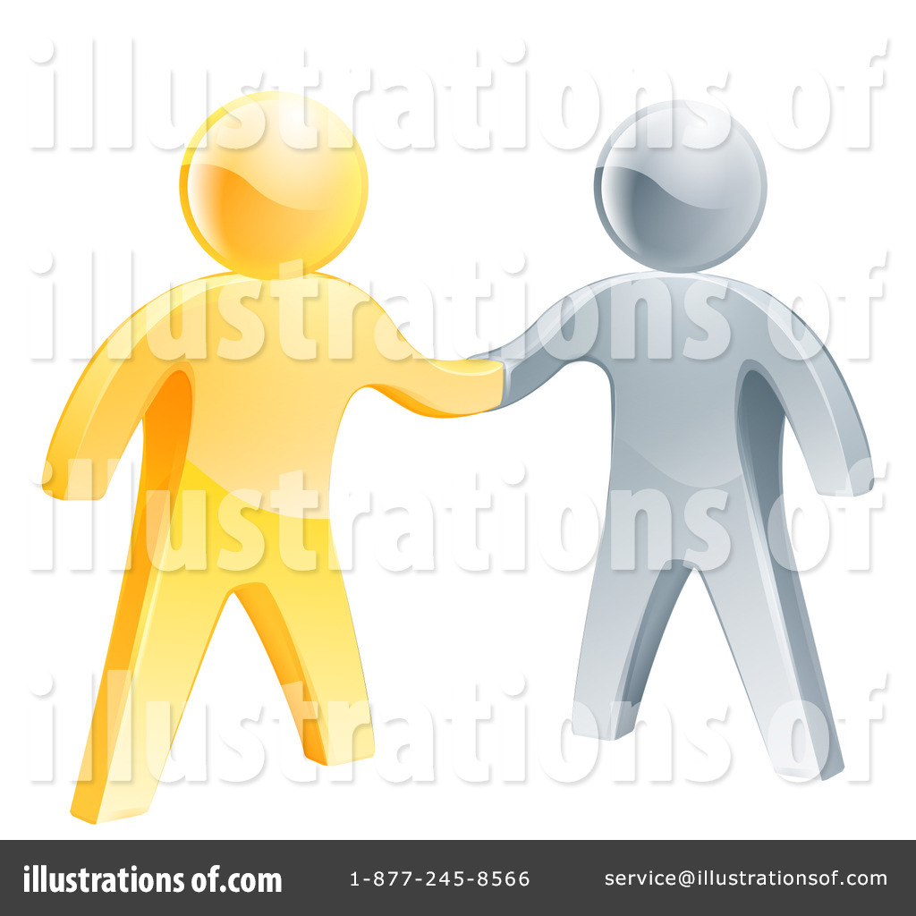 Royalty Free  Rf  Handshake Clipart Illustration By Geo Images   Stock